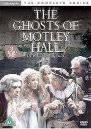 The Ghosts of Motley Hall UK DVD Cover