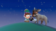 Timmy shaun and rudolph