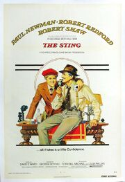 1973 - The Sting Movie Poster