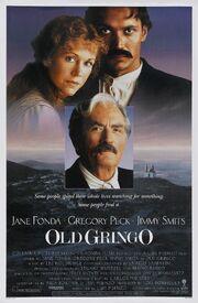 1989 - Old Gringo Movie Poster