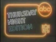 ABC NFL Thursday Night Edition