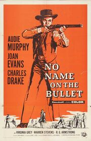 1959 - No Name on the Bullet Movie Poster