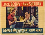 1942 - George Washington Slept Here Movie Poster