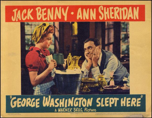 File:1942 - George Washington Slept Here Movie Poster.jpg