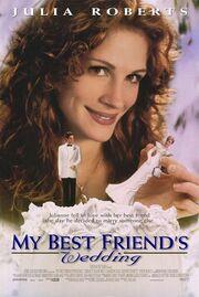 1997 - My Best Friend's Wedding Movie Poster