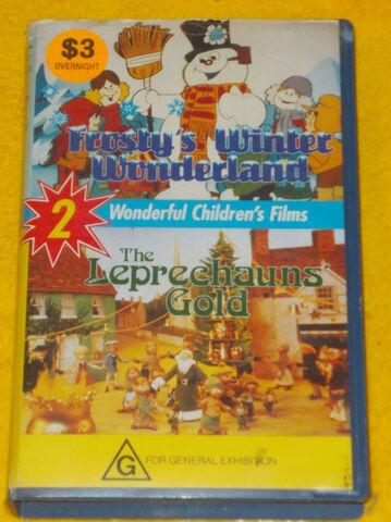 File:Frosty's Winter Wonderland The Leprechauns' Gold Australian VHS.jpg