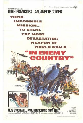 File:1968 - In Enemy Country Movie Poster.jpg