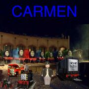 Carmen theatrical release poster