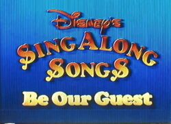 Be Our Guest Title Card
