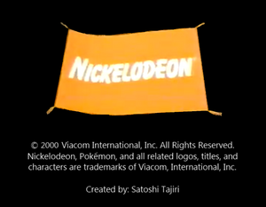 Nickelodeon Logo From Show Time