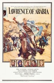 1962 - Lawrence of Arabia Movie Poster