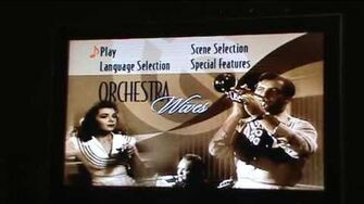 Opening to Orchestra Wives 2005 DVD