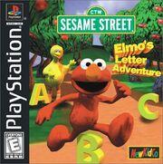 Elmo's Letter Adventure box