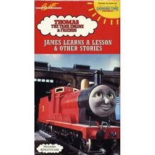 1993 VHS Shining Time Station James Learns A Lesson