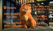 Garfield, The Movie Previews Menu 1