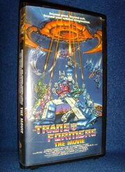 Transformers- The Movie VHS