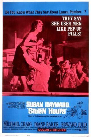 File:1963 - Stolen Hours Movie Poster.jpg