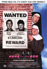 1990 - Nuns on the Run Movie Poster