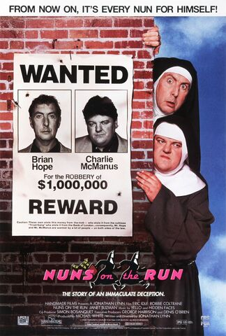 File:1990 - Nuns on the Run Movie Poster.jpg