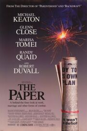 1994 - The Paper Movie Poster