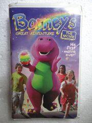 Barneys Great Adventure VHS