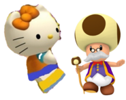 Mimmy and Toadsworth