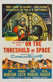 1956 - On the Threshold of Space Movie Poster