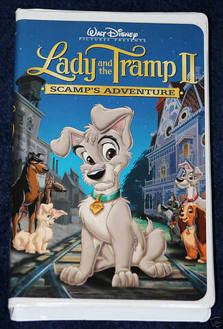 File:Lady and the tramp ii scamps adventure vhs.jpg