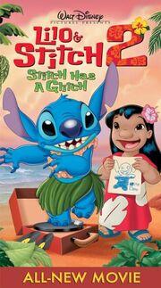 Lilo & Stitch 2 Stitch Has a Glitch VHS