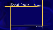 Sneak peeks menu remake