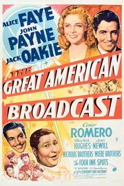1941 - The Great American Broadcast Movie Poster