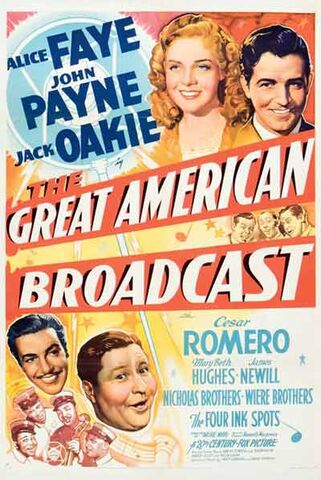File:1941 - The Great American Broadcast Movie Poster.jpg