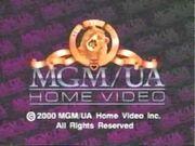 MGM UA Home Video Copyright Screen (2000 Version)