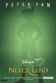 Peter Pan Return To Neverland (2002) Poster