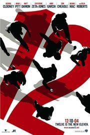 2004 - Ocean's Twelve Movie Poster