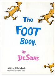 The Foot Book VHS
