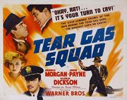 1940 - Tear Gas Squad Movie Poster