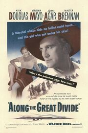 1951 - Along the Great Divide Movie Poster