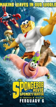 The Spongebob Movie Sponge Out of Water RealD 3D Poster