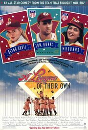 1992 - A League of Their Own Movie Poster 2