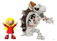 Mary and Dry Bowser