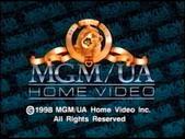 MGM UA Copyright Screen (1998 Variant)