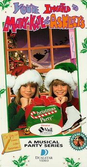 Mary Kate and Ashley's Christmas Party