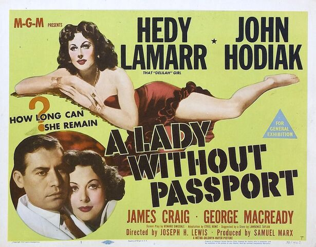File:1950 - A Lady Without Passport Movie Poster.jpg