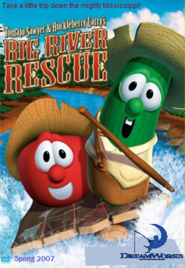DreamWorks Animation Big River Rescue Poster