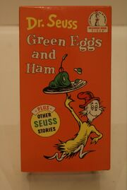 Green Eggs and Ham VHS