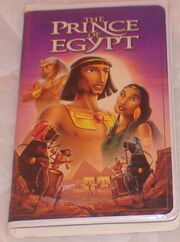 Prince of Egypt VHS Video