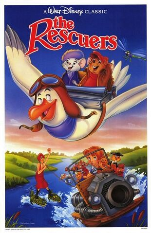 File:The rescuers 1989 rerelease poster.jpg