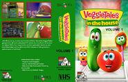 VeggieTales in the House - Volume 1 (2015 Random House Home Video Version) VHS Cover