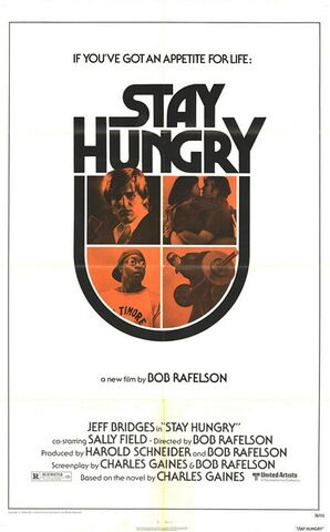 File:1976 - Stay Hungry Movie Poster.jpg
